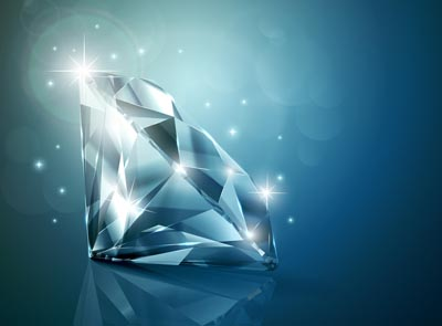 很多人听说过一克拉钻石,也在网上看过一克拉钻石的图片,但对一克图片