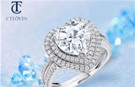 心形钻石戒指的寓意